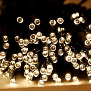 Solar-Lichterkette 21,4m 200 LEDs warmweiß