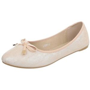 Edelnice Ballerinas L7309 gold für Damen