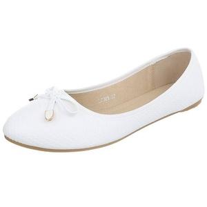 Edelnice Ballerinas L7309 weiß für Damen