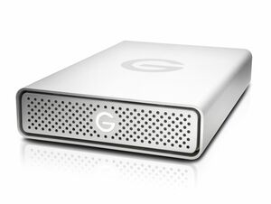 G-Technology G-DRIVE USB-C, 4 TB externe Festplatte, USB-C, silber