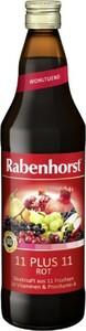 Rabenhorst  11+11 Roter Multi-Vitamin-Saft  750 ml