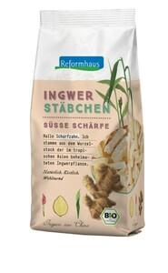 Reformhaus Bio Ingwer-Stäbchen gezuckert 200 g