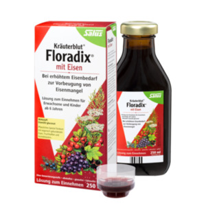Salus  Kräuterblut® Floradix®  mit Eisen, Tonikum
