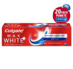 COLGATE Zahncreme max white