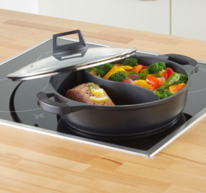 HOME IDEAS COOKING 2-in-1-Pfanne