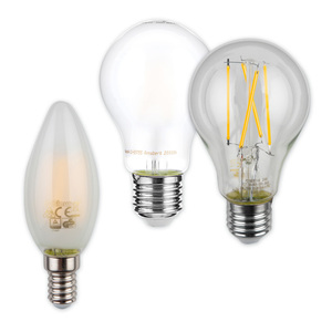 I-Glow LED-Filament-Leuchtmittel 2er / 3er-Pack