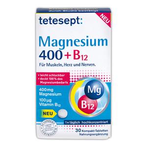 Tetesept Magnesium 400 + B12