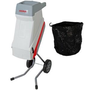 Ikra Gartenhäcksler IMH 2500 elektrisch mit Fangsack