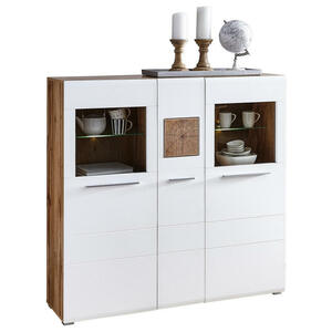 Hom`in HIGHBOARD Lacklaminat Weiß, Braun