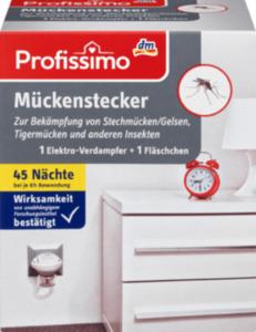 Profissimo Mückenstecker 1 Elektro-Verdampfer + 1 Fläschchen