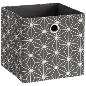 Faltkorb Tove (30x30, dunkelgrau, Diamant)