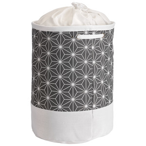 Wäschekorb Tove (Diamant, dunkelgrau)
