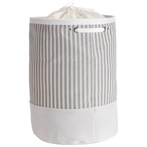 Wäschekorb Tove (Streifen, taupe)
