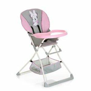 Hauck - Hochstuhl Mac Baby Deluxe, Minnie pink/grey