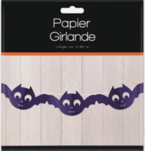 Dekorieren & Einrichten Papiergirlande Fledermaus
