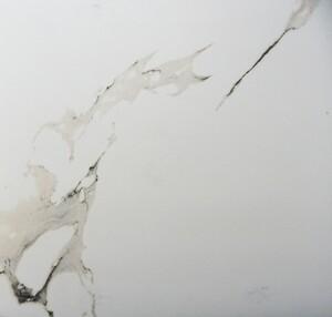 Feinsteinzeug Lumitec Carrara White ,  60 x 60 x 1 cm, Abr. 4, weiß