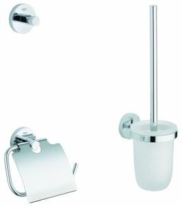 GROHE Essentials WC-Set 3 in 1 ,  chrom glänzend