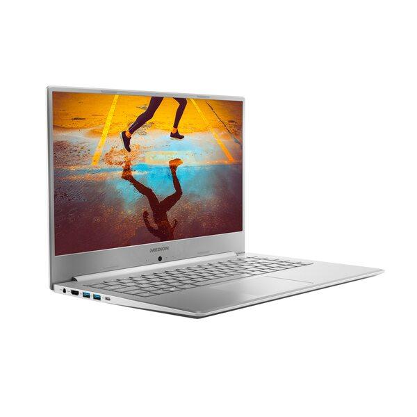 """MEDION AKOYA® S6445, Intel® Core™ i5-8265U, Windows10Home, 39,5 cm (15,6"""") FHD Display, 128 GB SSD, 1 TB HDD, 8 GB RAM, Slim-Bezel-Design, Schnellladefunktion, Notebook"""