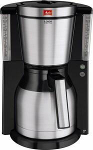 Melitta Look IV Therm DeLuxe Kaffeeautomat mit Thermokanne schwarz/edelstahl