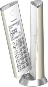 Panasonic KX-TGK220GN Schnurlostelefon mit Anrufbeantworter champagner