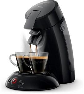 Senseo HD6554/67 Original + Milch-Stick Kaffeepadmaschine schwarz