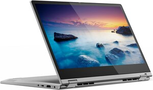 Lenovo IdeaPad C340-14API (81N6006DGE) 35,6 cm (14´´) 2 in 1 Convertible-Notebook platinum grey