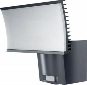 Osram LED Außenleuchte Noxlite FL 23 W ,  anthrazit, mit Bewegungsmelder