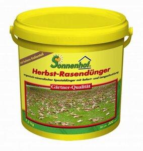 Sonnenhof Herbst-Rasendünger