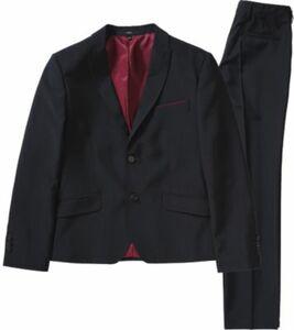Kinder Anzug, Slim Fit dunkelblau Gr. 134 Jungen Kinder