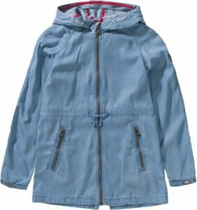 Parka aus Sommerdenim light blue denim Gr. 170/176 Mädchen Kinder