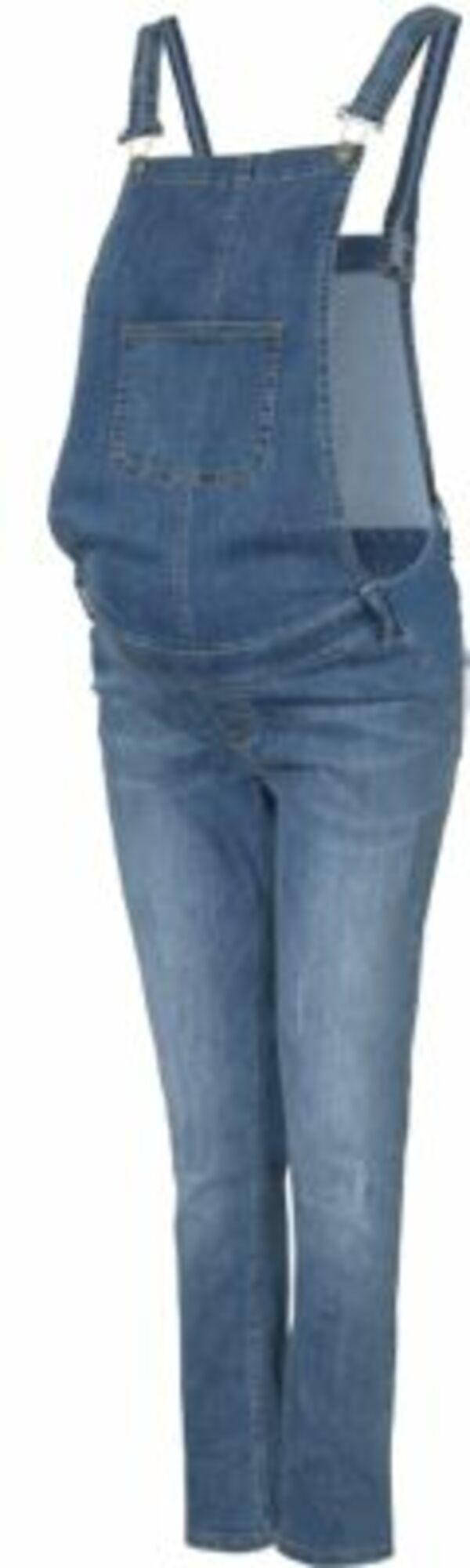 Umstandslatzhose blau Gr. 34 Damen Kinder