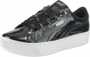 Vikky Platform Ribbon P Sneakers Low schwarz Gr. 42 Damen Kinder