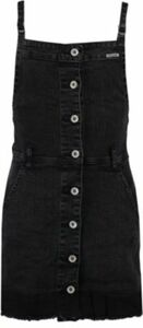 Kinder Jeanskleid schwarz Gr. 140/146 Mädchen Kinder