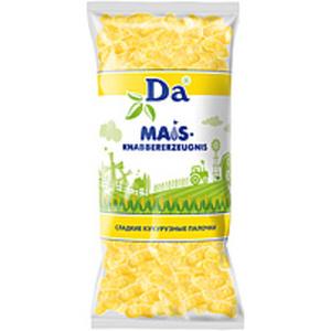 """Süßes Maisknabbererzeugnis """"Da"""""""
