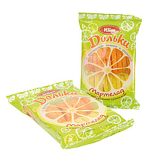 """Gelee Früchte """"Halbe Orangen und Zitronenscheiben"""""""