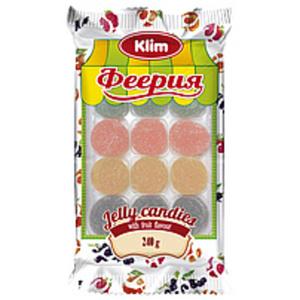 """Gelee-Bonbons-Mischung """"Feeria"""" mit Fruchtgeschmack (Erdbeer..."""