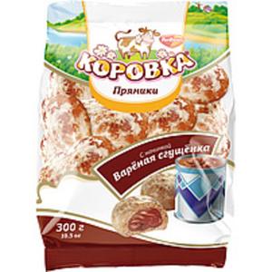 "Feingebäck ""Prjaniki Korovka"" mit Cremefüllung (16,9%) mit k..."