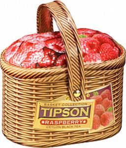 "Schwarzer Ceylon Tee ""Tipson Basket Raspberry"", aromatisiert..."
