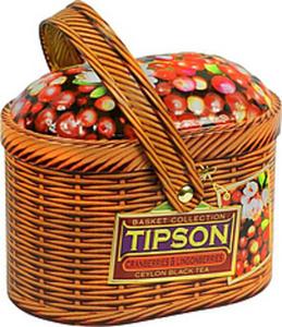 """Schwarzer Ceylon Tee mit Moosbeeren und Preiselbeeren """"Tipso..."""