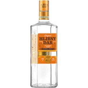 """Aromatisierter Vodka """"Hlibny Dar""""  Bochkovaya 40% vol."""