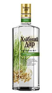 """Vodka """"Hlibny Dar"""" proroschennoe serno 40% vol."""
