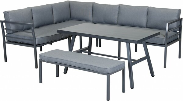 Primaster Alu Dining Lounge | B-Ware - der Artikel ist neu - Verpackung geöffnet