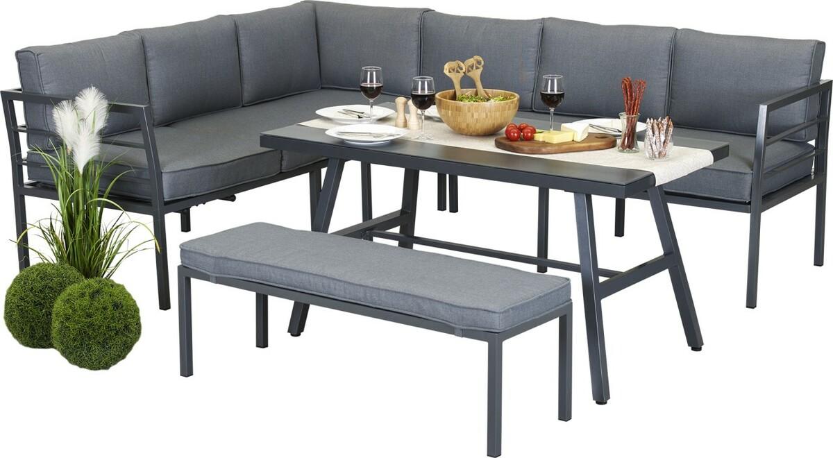Bild 3 von Primaster Alu Dining Lounge | B-Ware - der Artikel ist neu - Verpackung geöffnet