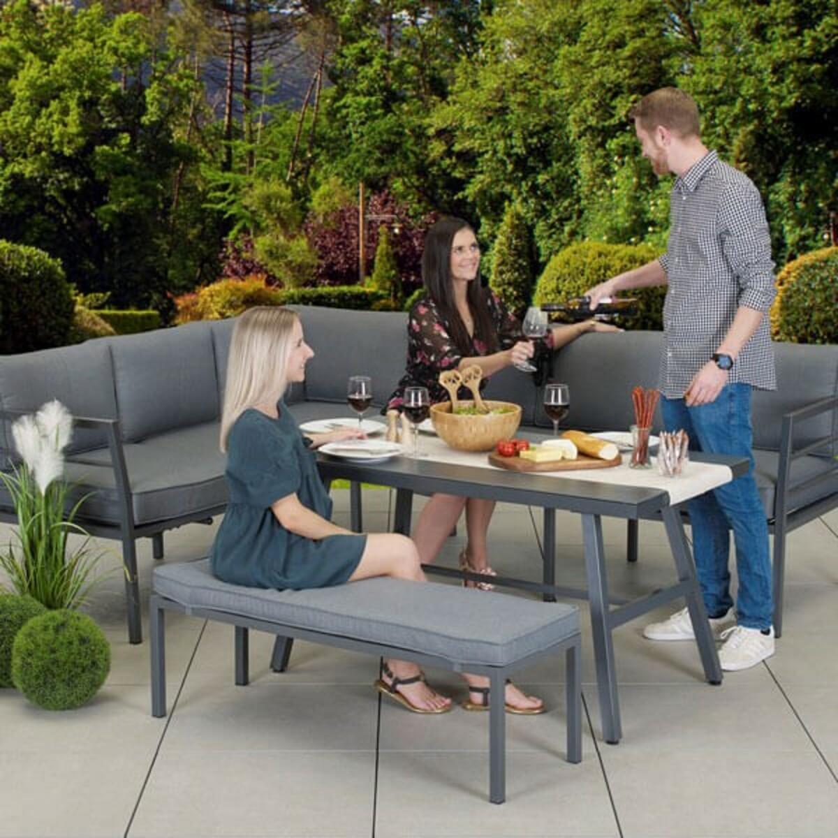 Bild 4 von Primaster Alu Dining Lounge | B-Ware - der Artikel ist neu - Verpackung geöffnet