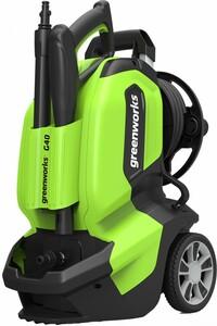 Greenworks Hochdruckreiniger G40 135 bar | B-Ware - der Artikel wurde vom Hersteller geprüft und ist technisch einwandfrei - kann Gebrauchsspuren aufweisen - volle gesetzliche Gewährleistung
