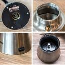 Bild 3 von Rommelsbacher Espressokocher EKO 366/E | B-Ware - der Artikel wurde 1x getestet (mit Wasser) und ist technisch einwandfrei - kann Gebrauchsspuren aufweisen - volle gesetzliche Gewährleistung