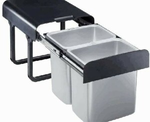 TrendLine Einbau-Mülltrennungssystem | B-Ware - der Artikel ist neu - Verpackung beschädigt