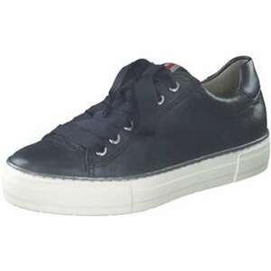 Ara Courtyard Plateau Sneaker Damen blau