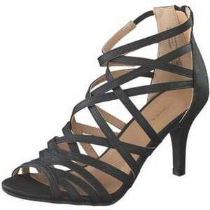 Barbarella Sandale Damen schwarz