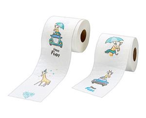 kokett®  Toilettenpapier mit Motiv